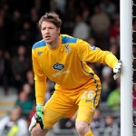 Fulham v CP 11/5/14 Wayne Hennessey Photo: ©Neil Everitt 07970 789228