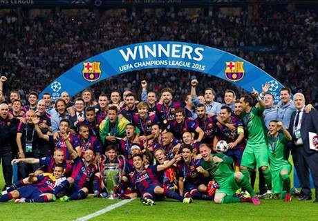 Barcelona - Champions League 2015