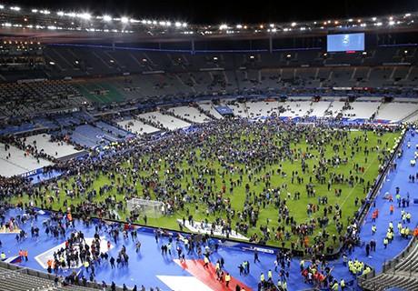 El Stade de France fue desalojado tras las bombas el pasado viernes