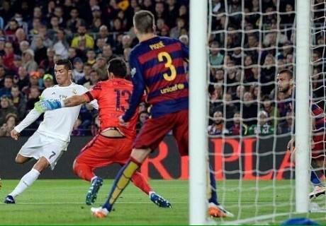 Cristiano Ronaldo decidió el Clásico con un gol en el tramo final del partido.