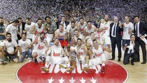El Real Madrid se volvió a proclamar campeón de la Liga Endesa 2015-16, venciendo en la final al FC Barcelona Lassa por 3 victorias a 1.