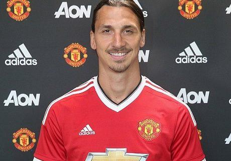 Zlatan Ibrahimovic fue el primer gran fichaje de la era Mourinho en el Manchester United.