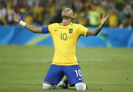 Como en los pasado Juegos Olímpicos, Neymar Jr. lideró a su selección al triunfo ante Argentina en el gran Clásico del fútbol sudamericano.