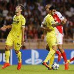 Manu Trigueros se lamenta tras una ocasión perdida. El Villarreal no pudo darle la vuelta al 1-2 del partido de ida y cayó eliminado en Mónaco.