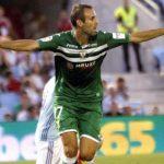 Víctor Díaz hizo historia en la Liga Santander, al anotar el primer gol del Leganés en la categoría y darle su primera victoria.