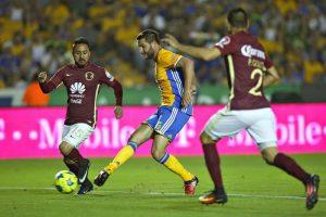 Tigres se llevo el partido estrella de la tercera jornada de la Liga BBVA Bancomer MX, derrotando a América por 4-2.