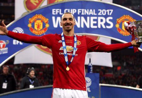 Zlatan Ibahimovic fue elegido jugador del partido tras marcar un doblete, incluído el gol de la victoria.