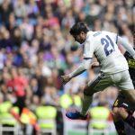 Álvaro Morata abrió el marcador en el triunfo del líder sobre el Espanyol por 2-0.