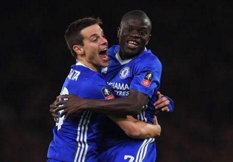 El Chelsea se medirá al Tottenham Hotspurs en la semifinal de la FA Cup tras derrotar al Manchester United por 1-0.