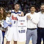 Felipe Reyes se convirtió en el máximo reboteador histórico de la Liga ACB (con registros desde 1983), en una jugada que fue clave en la victoria de su equipo, con tres rebotes de ataque consecutivos.