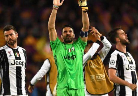 Gigi Buffon tan sólo ha encajado 2 goles en lo que va de Champions League, manteniendo su portería a cero en la eliminatoria frente al Barça.