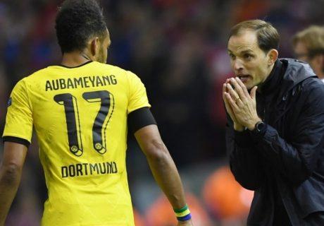 Pese a ganar la Copa de Alemania y acabar siendo máximo goleador de la Bundesliga, la relación de Aubameyang con Thomas Tuchel distó mucho de ser idílica.