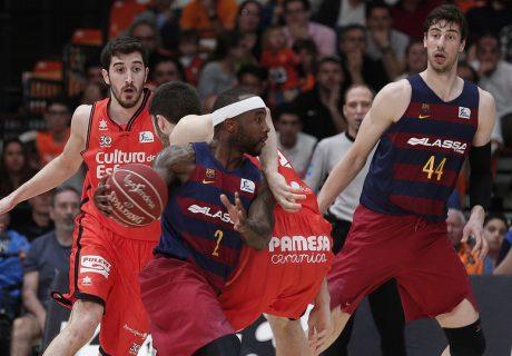 Valencia Basket y FC Barcelona disputan la eliminatoria estrella de la primera ronda de los playoffs de la Liga Endesa 2017.