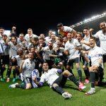 El Real Madrid ganó su 33º título de la Liga Santander, venciendo al Málaga en La Rosaleda por 0-2.