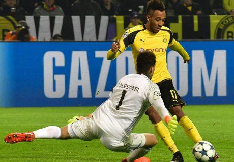 Pierre-Emerik Aubameyang será la gran estrella del Borussia Dortmund, gran rival del Real Madrid por el primer puesto del grupo.