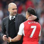 Guardiola y Alexis Sánchez podrían reencontrarse en los Citizens tras su etapa juntos en Barcelona.