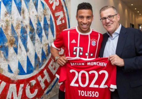 El Bayern Munich ha batido su propio récord en un fichaje, al paga al Olympique Lyon 41 millones por el traspaso de Corentin Tolisso.