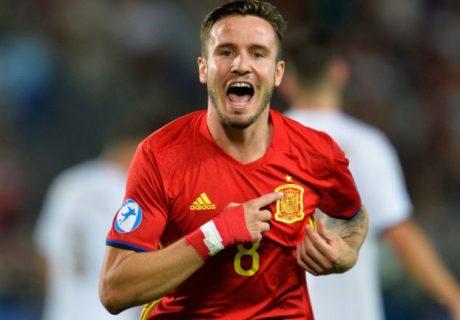 El ilicitano Sául Ñíguez suma 5 goles en este Europeo Sub-21 del que es Bota de Oro antes de jugar la final.