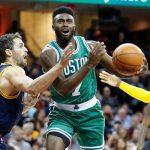 Brown llegó hasta la final de la Conferencia Este con sus Boston Celtics en su primera temporada en la NBA, siendo eliminado por los Cleveland Cavaliers por 4-1.