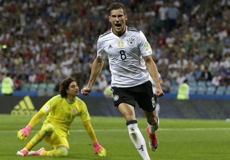 Leon Goretzka fue el protagonista de la victoria de Alemania por 4-1 frente a México.