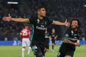 Como en la final de Cardiff, Carlos Henrique Casemiro fue decisivo para la victoria del Real Madrid.
