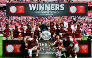 El Arsenal ganó su 15ª Community Shield, imponiéndose en la tanda de penaltis al Chelsea.