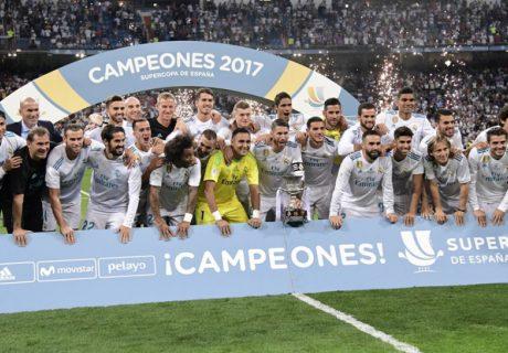 El Real Madrid se proclamó campeón de la Supercopa de España al derrotar al FC Barcelona por un resultado global de 5-1.