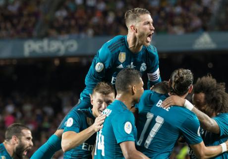 El Real Madrid se adelanta en la Supercopa de España tras su victoria en el Nou Camp por 1-3.