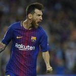 Lionel Messi marcó un doblete en la victoria del Barça por 3-0 sobre la Juventus.