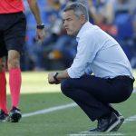 Tras haber tenido un gran debut en Primera con el Elche, Escribá ha sido cesado en sus dos últimos equipos.