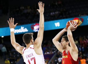 Pau Gasol España Croacia Eurobasket
