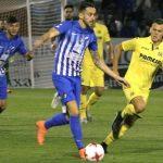 La Ponferradina dio una de las sorpresas de esta ronda copera, ganando al Villarreal en el partido de ida.