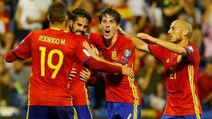 Isco marcó el segundo gol de España ante Albania, finalizando una gran jugada del equipo español.