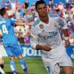 El primer gol de Cristiano Ronaldo en la Liga Santander 17-18 dio la victoria al Real Madrid en Getafe.