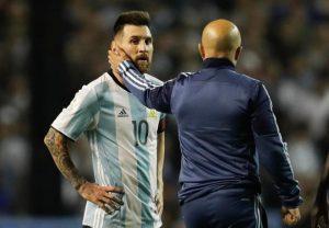 Messi y Sampaoli han llevado a Argentina a hacer su preparación en Barcelona.