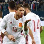 Sergio Ramos marcó el primer doblete de penaltis con la Selección Española desde 1927.