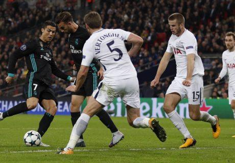 Cristiano Ronaldo marcó el único tanto del Real Madrid en Wembley y ya suma 6 de los ochos goles madridistas en los 4 partidos de la fase de grupos.