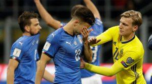 Tras no marcar un sólo gol en los dos partidos de la repesca, Italia se pierde su primer Mundial desde 1958,