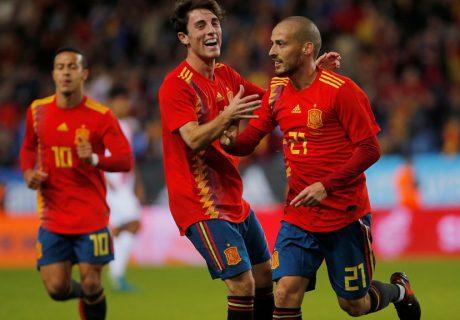 David Silva será uno de los líderes de España en el próximo Mundial 2018.