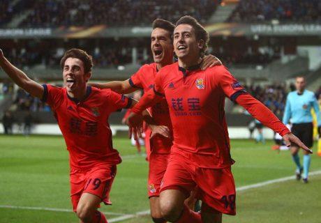Un tanto de Mikel Oyarzabal dio la victoria a la Real Sociedad en Noruega.
