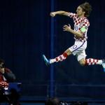 Luka Modric abrió el marcador desde los 11 metros en el minuto 13 de partido.