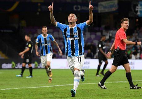 Everton decidió el pase de Gremio a la final de la Mundial de Clubes.