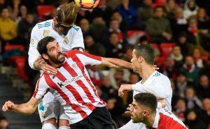 Por segundo vez esta temporada, Sergio Ramos fue expulsado por doble amarilla en la Liga Santander.