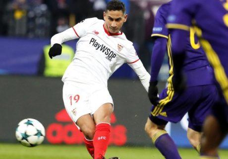 Paulo Henrique Ganso marcó el tanto del empate del Sevilla en Maribor.
