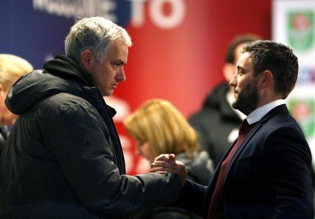 El entrenador del Bristol City, Lee Johnson, mostró su admiración por José Mourinho antes de que su equipo eliminara a los Diablos Rojos en la Copa EFL