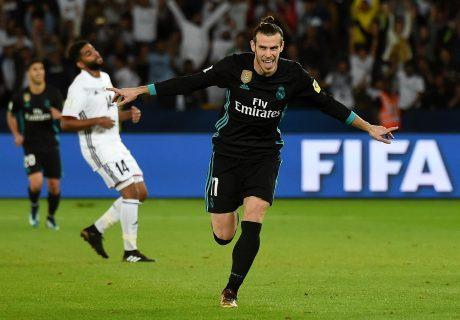Gareth Bale volvió a rescatar al Real Madrid, marcando en el primer gol que tocó tras entrar a menos de 10 minutos para el final del partido ante Al Jazira.