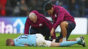 Más allá del empate, lo peor para Guardiola fueron las lesiones de Gabriel Jesús y De Bruyne en Selhurst Park.