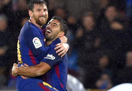Entre Messi y Suárez suman 30 goles esta temporada, dos más que todo el Atlético de Madrid y solo 2 menos que todo el Real Madrid.