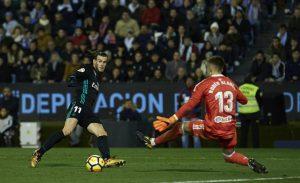 Gareth Bale marcó los dos goles del Real Madrid en Balaídos, en el empate a 2 frente al Celta de Vigo.