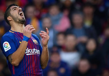Luís Suárez vio rota su racha de jornadas marcando en liga, ante un Getafe que supo anular al Barça.